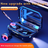LED Display Wireless Bluetooth Earbuds for Smart Phone.