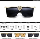 Traditional Designer Square Sunglasses