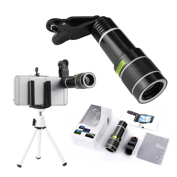 NEW 20 X Zoom Optical Camera Telephoto Lens and Holder