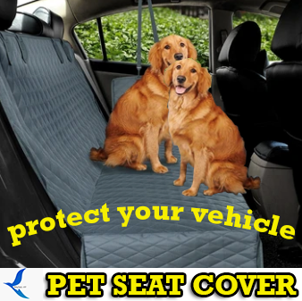 QUALITY PET SEAT COVER AND PROTECTOR FOR VEHICLE BACKSEAT INSTALLATION.