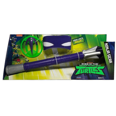 RISE OF THE TURTLES SET ARMI NINJA TECH-BO DI DONATELLO