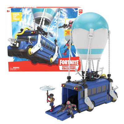 FORTNITE BATTLE BUS CON 2 PERSONAGGI 5cm