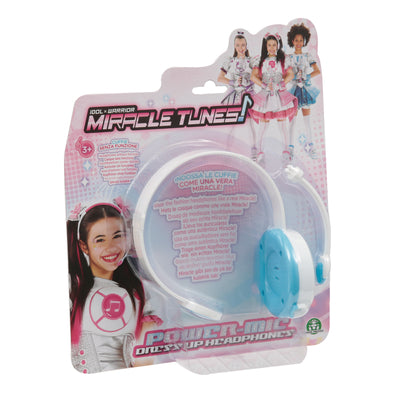 MIRACLE TUNES CUFFIE ROLE PLAY AZZURRO/JASMINE