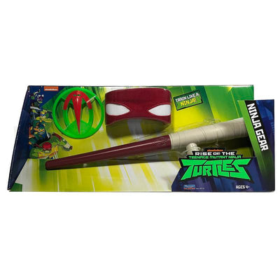 RISE OF THE TURTLES SET ARMI NINJA TONFA DI RAFFAELLO
