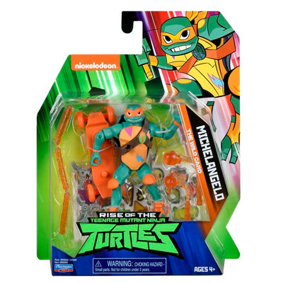 RISE OF THE TURTLES MICHELANGELO