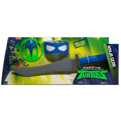 RISE OF THE TURTLES SET ARMI NINJA SPADA ODATCHI DI LEO