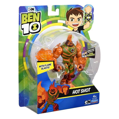 BEN10 OUT OF THE OMNITRIX HOT SHOT