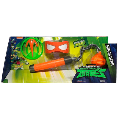 RISE OF THE TURTLES SET ARMI NINJA KUSARIGAMA DI MICHI