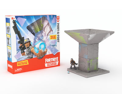 FORTNITE PORT A FORT PLAYSET CON 1 PERSONAGGIO 5cm