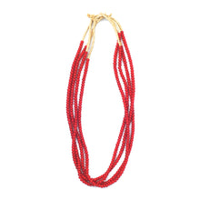 Load image into Gallery viewer, Turkana Necklace - Red