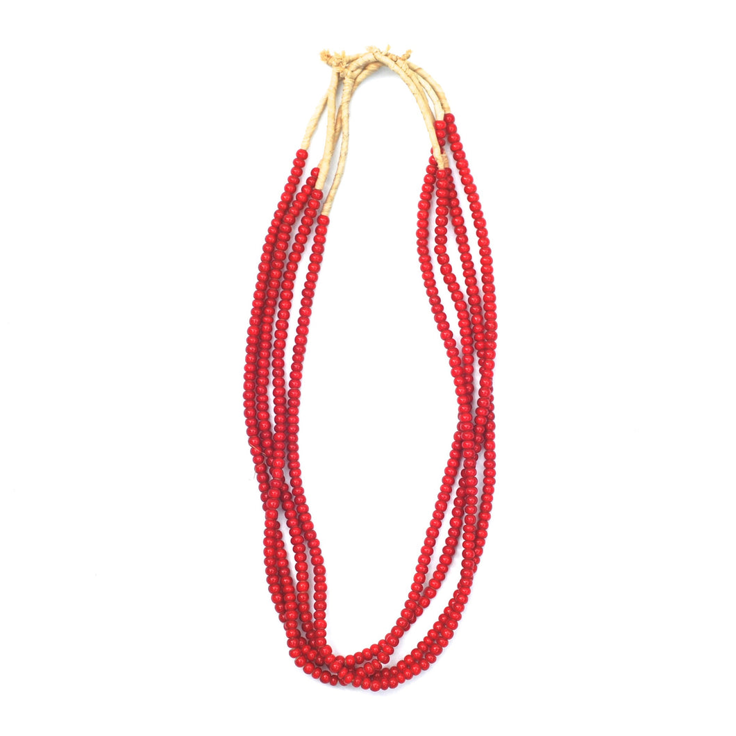 Turkana Necklace - Red