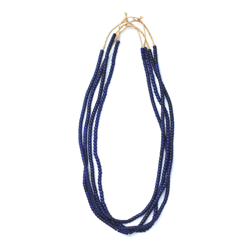 Turkana Necklace - Dark Blue