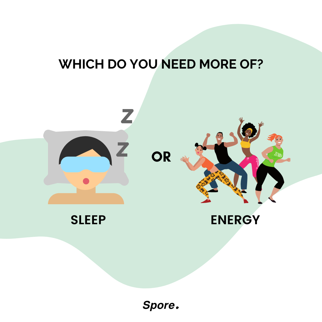 which do you need more of energy or focus