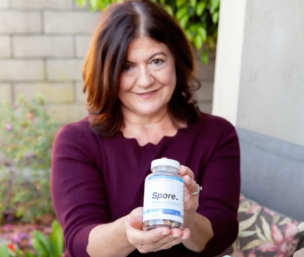 aging mother holding spore focus performance for brain health