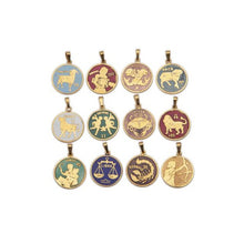 Load image into Gallery viewer, MINI ZODIAC PENDANT NECKLACE