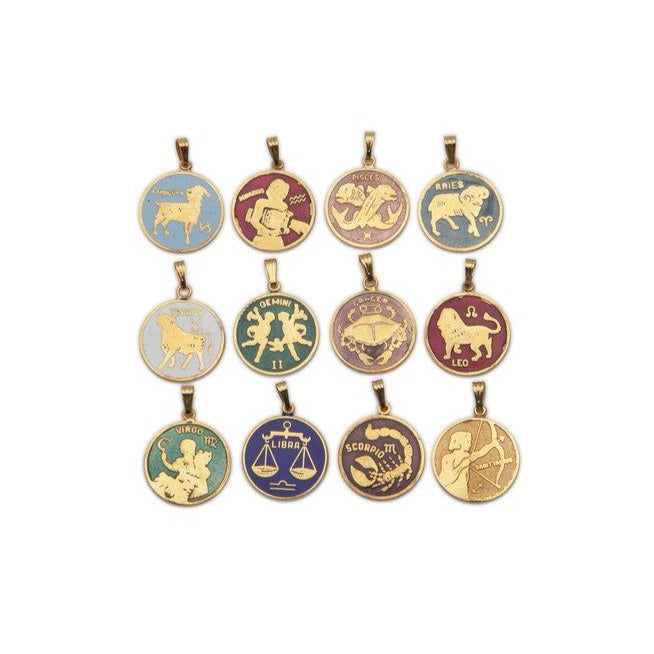 MINI ZODIAC PENDANT NECKLACE