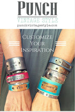 Load image into Gallery viewer, Hand Dyed Custom Leather Bracelet