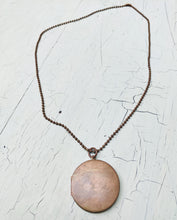 Load image into Gallery viewer, Copper Vintage Locket Necklace