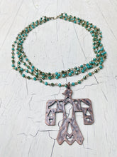 Load image into Gallery viewer, Multi-Layered Thunderbird Necklace