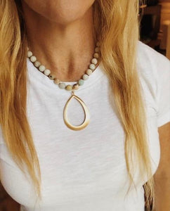 Beach boho necklace