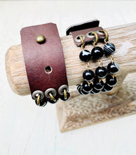 Load image into Gallery viewer, Adjustable Multi-strand Bead Bracelet