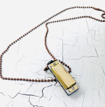 Load image into Gallery viewer, Working Harmonica Necklace