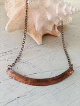 Load image into Gallery viewer, copper statement necklace