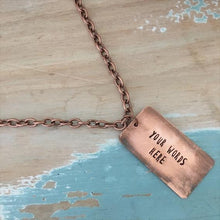 Load image into Gallery viewer, Copper Inspiration Necklace