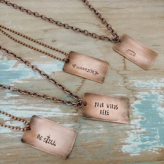 Copper Inspiration Necklace