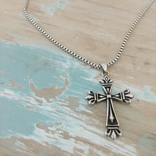 Load image into Gallery viewer, Mens Cross Necklace