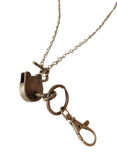 Load image into Gallery viewer, Valentines Day Vintage Lock & Key Necklace & Key Chain Set