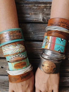 Custom Stacking Cuffs (Set of 3)