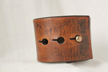 Load image into Gallery viewer, Leather Cuff Bracelet for Women- Never Give Up