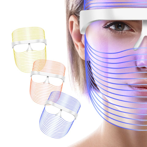 3 in 1 LED Therapy Shield Facial Mask