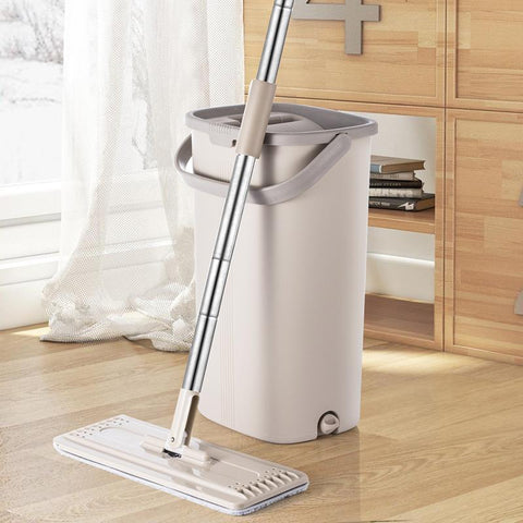 Automatic Cleaning & Drying Squeeze Mop