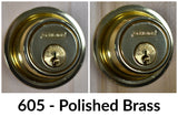 Schlage B562 Heavy Duty Double Cylinder Deadbolt - Primus XP