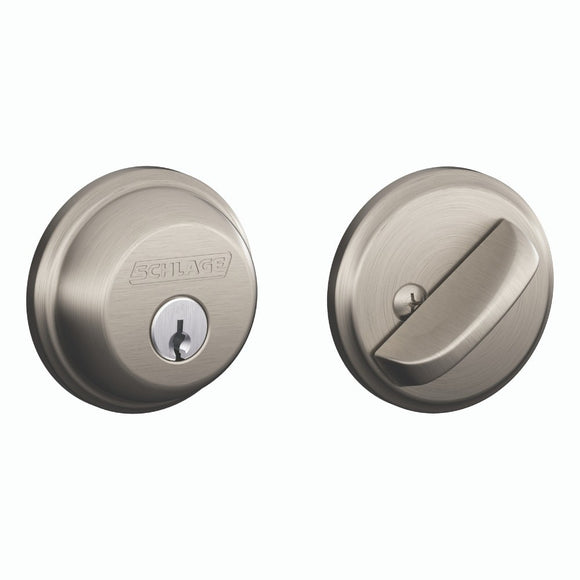 Schlage B60 Residential Single Cylinder Deadbolt - Enhanced Security Keying