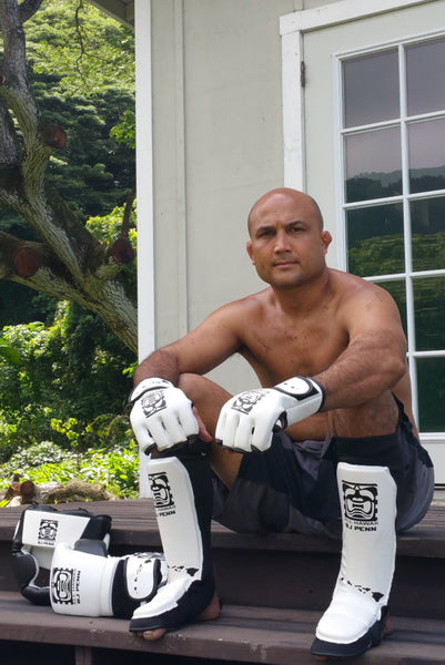 VK X ALLHAWAII X BJPENN SHIN GUARDS