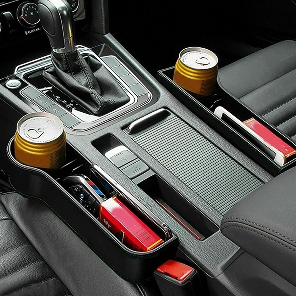Car Organizer With cup Holder