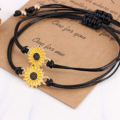 """My Sunshine"" Bracelet (2pcs)"