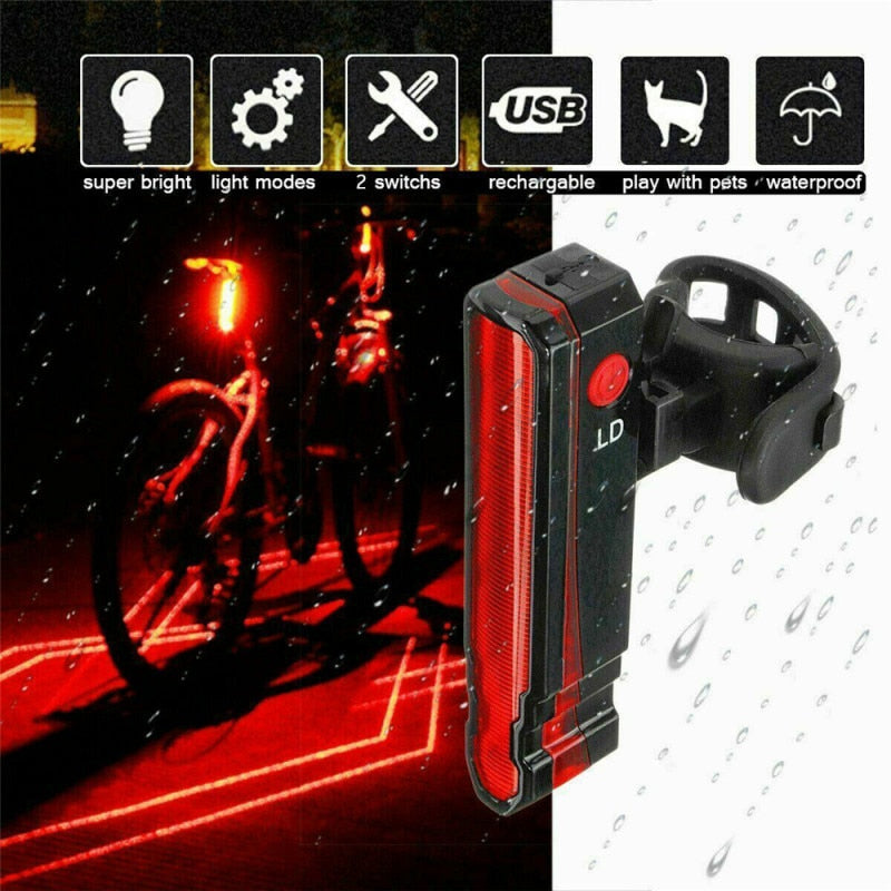Spidy™ - Bike laser light
