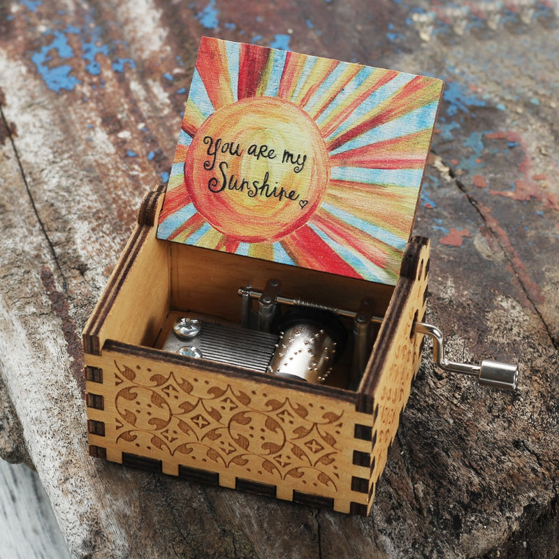 """My Sunshine"" Music Box"