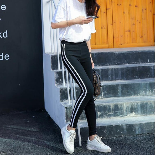 Solid Stripes Pants