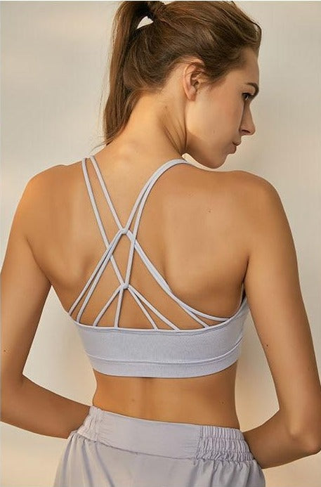 Core Stripes Sports Bra