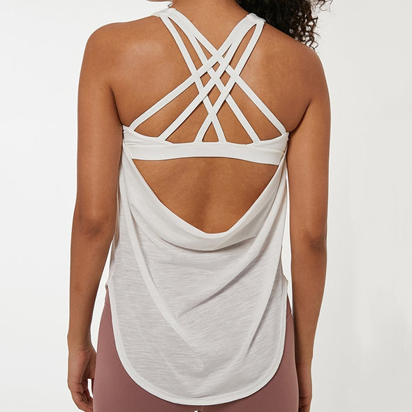 Crossed Path Tank Top