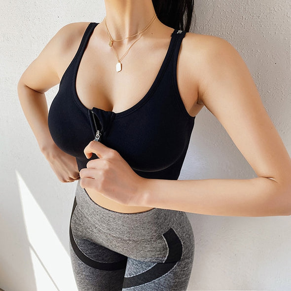 Lucid Zip-up Sports Bra