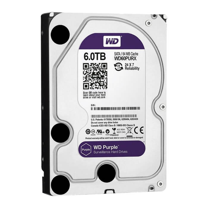 Hard Disk 6 TB HDD Data Storage – Purple