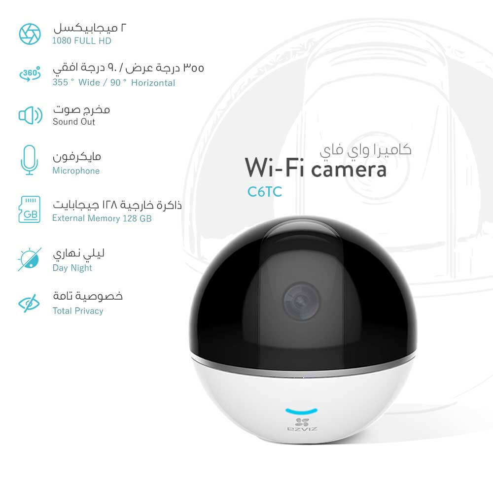 Built-in Wi-Fi camera, FULL HD ~