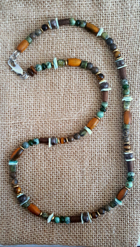 Men's Irish Seaside Necklace