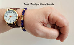 Accent Purple Amethyst Bracelet